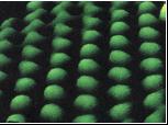 Atomes vu par un microscope à effet tunnel