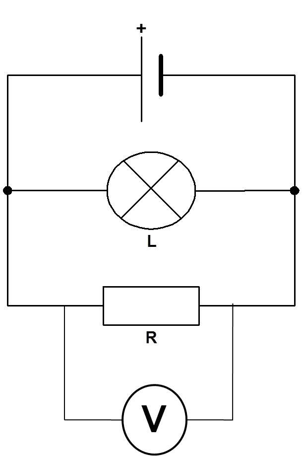 Mesure de la tension dans un circuit en dérivation