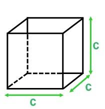 Volume d'un cube