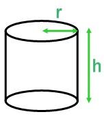 Volume d'un cylindre