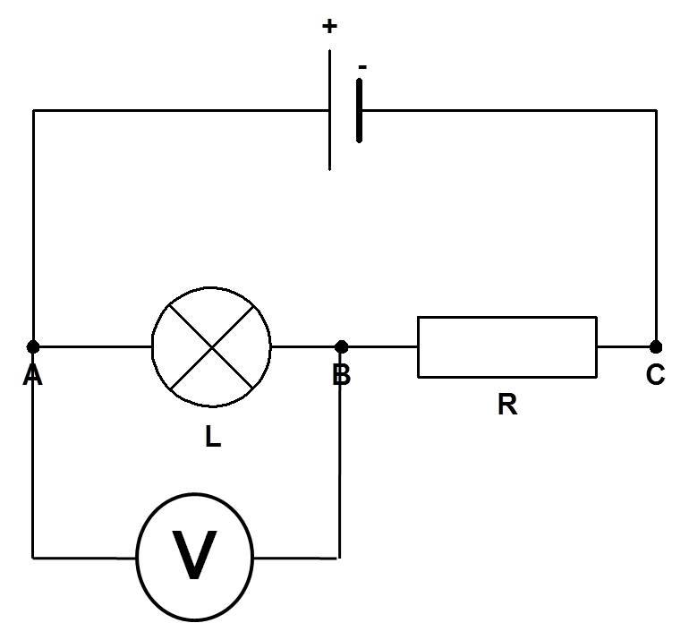Mesure de la tension dans un circuit en série